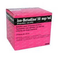 iso-Betadine Oogspoeling 5% 400 ml