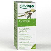 Biover Huile Essentielle Eucalyptus Commun – Voies Respiratoires – Huile Essentielle 100% Bio 50 ml