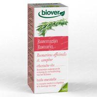 Biover Essentiële olie Rozemarijn – Stramme spieren en Vermoeidheid – Biologische 100% Etherische Olie 10 ml