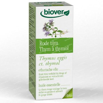 Biover Huile Essentielle Thym Rouge 10 ml