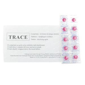 Dental Plaque Sentinal Trace 10 St comprimidos