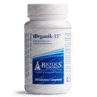 Biotics Organik-15 180  tabletten