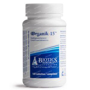 Biotics Organik-15 180 comprimés
