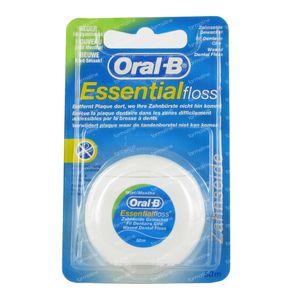 Oral B Floss Essential Mint Waxed 50 m