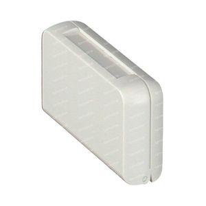 Boîte Medicaments 3 Parts Plastique 6.5 x 3.5 x 1.5 cm 1 pièce