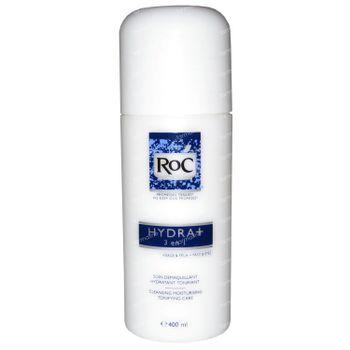 Roc Hydra+ Soin Demaquillant 3 en 1 400 ml