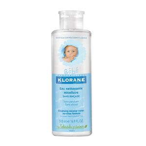 Klorane Baby Cleansing Micellar Water No Rinse Formula 500 ml