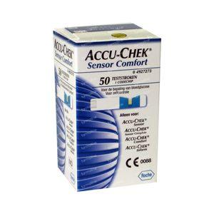 Accu-Chek Sensor Comfort 50 pièces