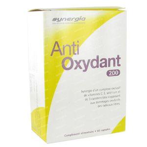 Anti Oxydant 200 60 capsules