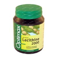 Optimax Lecithine 2000mg 150 Tabl. 150  tabletten
