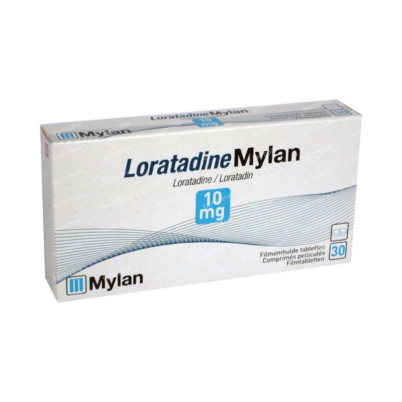 Loratadine Mylan 10mg 30 Tabletten Hier Online Bestellen