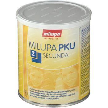 Milupa PKU 2 Secunda Poudre 500 g
