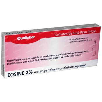 Eosine 2% Qualiphar 20 ml unidosis