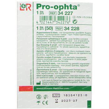 Pro Ophta S Oogverband Klein 34227 1 st
