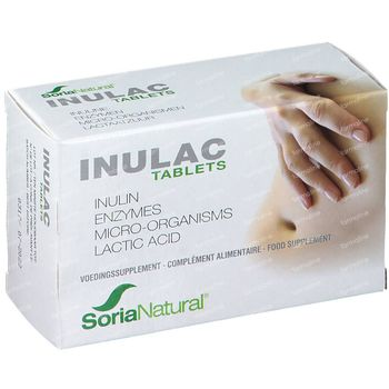 Soria Natural Inulac 30 zuigtabletten