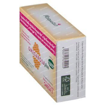 Mosquetas Rose Omegarosa Plus Bio Huile De Rose 60 capsules
