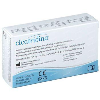 Cicatridina 10 ovules