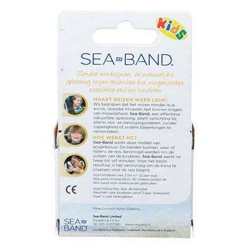 Sea-Band Polsbandjes Kind Blauw 2 stuks