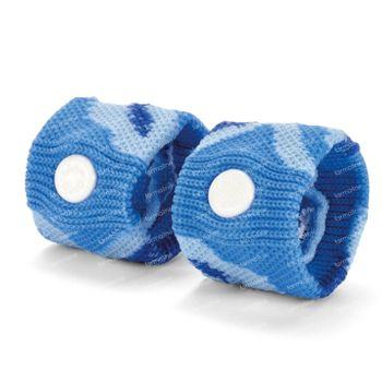 Sea-Band Bracelets Enfants Bleu 2 pièces