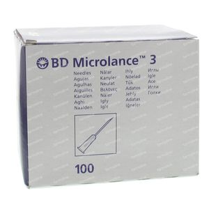 Microlance 3 naald 20g 1 1/2 rb 0,9x40 100 pieces