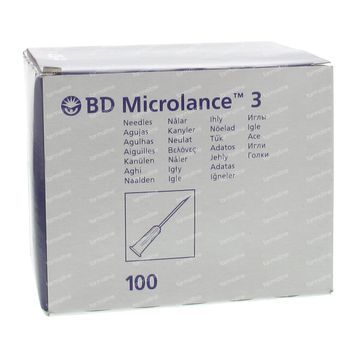 Microlance 3 naald 20g 1 1/2 rb 0,9x40 100 st