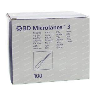 Microlance 3 naald 20g 1 1/2 rb 0,9x40 100 stuks