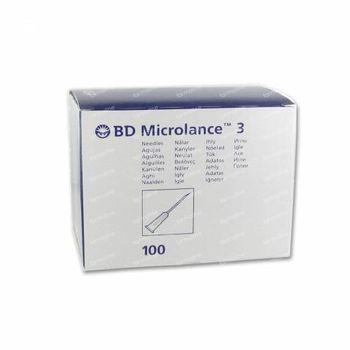 BD Microlance 3 Naalden 23G 1 RB 0.6x25Mm Blauw 100 st