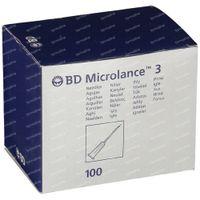 BD Microlance 3 Naalden 25G 1 RB 0,5x25 Mm 100 st