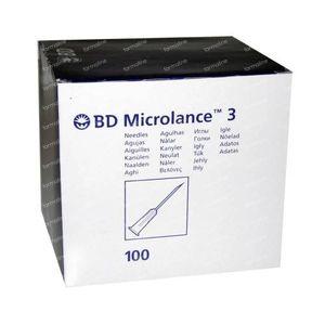 BD Microlance 3 Naald 18g 1.2mm x 40mm Rose 100 stuks