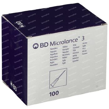 BD Microlance 3 Nadel 18g 1.2 x 40 mm Rosa 100 st