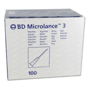 BD Microlance 3 Aiguilles 24G 1 RB 0,55x25 Mm 100 St