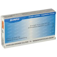 Sauerstoffwasser 3% UD Qual 100 ml einzeldosis