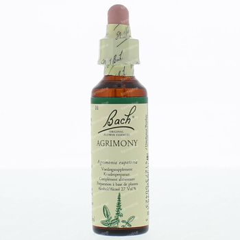 Bach Flower Agrimony 20 ml