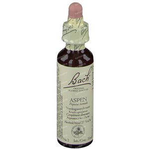 Bach Aspen - Ratelpopulier 20 ml