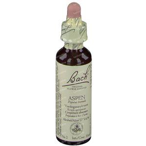 Bach Flower Aspen 20 ml