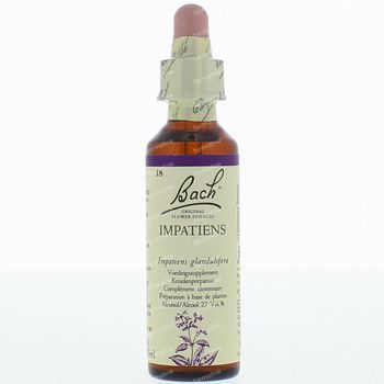 Bach Flower Remedie 18 Impatiens 20 ml