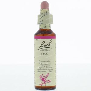 Bach Flower Remedie 22 Oak 20 ml