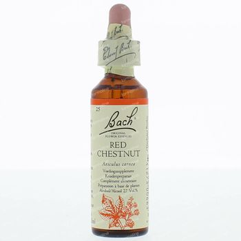 Bach Flower Remedie 25 Red Chestnut 20 ml