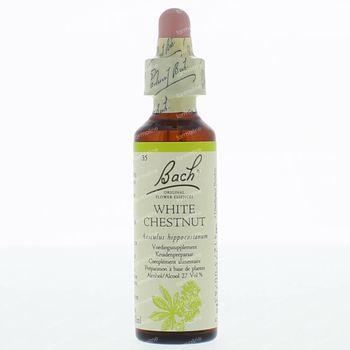 Bach Flower Remedie 35 White Chestnut 20 ml