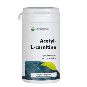 Acetyl-l-Carnitine 500mg 60 vcaps