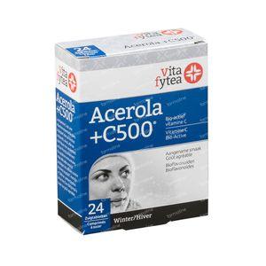 Vitafytea Acerola Vitamine C 500 24 comprimés à sucer