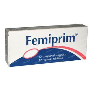 Femiprim Vaginal 250mg 12 St compresse