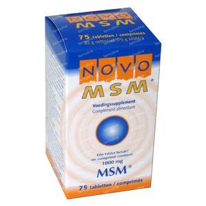 Novo MSM 75 St compresse