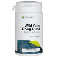 Springfield Wild Yam Dong Quai 60  softgels