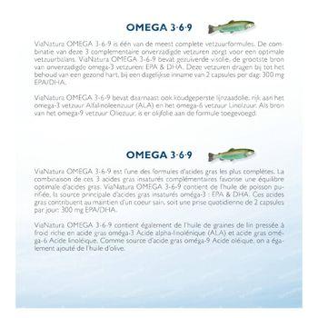 ViaNatura Omega 3 6 9 80 capsules