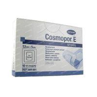 Cosmopor E Pans Stériles Adhésifs 7.2 x 5 cm 10 st