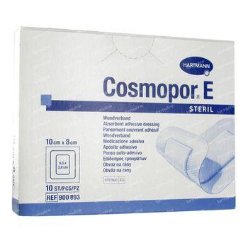 Cosmopor E Pans Stériles Adhésifs 10 x 8 cm 10 pièces