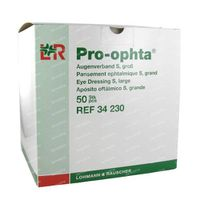 Pro - Ophta Oogverband S Groot 50 st