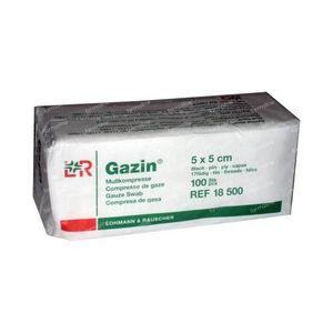 Gazin Compresse di Garza 5 x 5cm 18500 100 pezzi