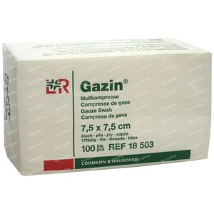 Gazin Gaaskompres 7.5 x 7.5cm 18503 100 St